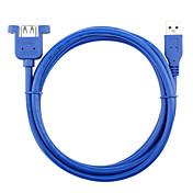 USB 3.0 Cable de extensión, USB 3.0 to USB 3.0 Cable de extensión Macho - Hembra 1,0 m (3 pies)