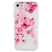 케이스 제품 Apple iPhone 7 Plus iPhone 7 패턴 엠보싱 텍스쳐 뒷면 커버 꽃장식 소프트 TPU 용 iPhone 7 Plus iPhone 7 iPhone 6s Plus iPhone 6s iPhone 6 Plus iPhone 6
