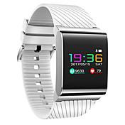 Smart armbånd til iOS / Android Pulsmåler / Blodtrykksmåling / Kalorier brent / Lang Standby / Pekeskjerm Pedometer / Samtalepåminnelse / Aktivitetsmonitor / Søvnmonitor / Stillesittende sittende