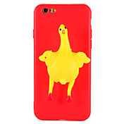 Etui Til Apple iPhone 7 Plus iPhone 7 Myk GDS Bakdeksel 3D-tegneseriefigur Dyr Myk TPU til iPhone 7 Plus iPhone 7 iPhone 6s Plus iPhone