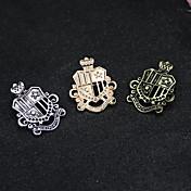 Logo Broche - Vintage, Moda, Euramerican Broche Dorado / Oro / Negro / Plata / Negro Para Uso Diario / Casual / Casual / Diario