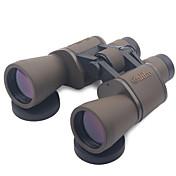 20X50mm Binoculares Alta Definición Mate Anti vaho Protección UV Anti golpe Alcance de la localización Gran Angular Porro De alta