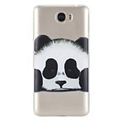 Etui Til Huawei Honor 5C Huawei Gjennomsiktig Mønster Bakdeksel Panda Myk TPU til Huawei Honor 5C Huawei Y5 II / Honor 5 Huawei