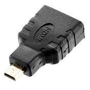 Micro HDMI Adaptador, Micro HDMI to HDMI 1.3 Adaptador Macho - Hembra