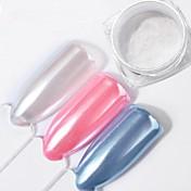 Glitter Powder Lentejuelas Clásico Efecto Perla Glamour Brillante Alta calidad Diario Nail Art Design