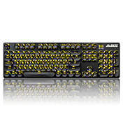 Ajazz keycaps conjunto de teclado mecánico teclado gamimg teclado steampunk 104 teclas