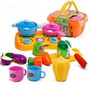 Conjuntos de juguetes de cocina Los alimentos de juguete Juguetes Comida Juguetes Niños Chica Piezas