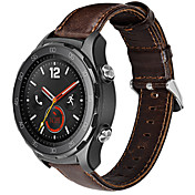 Klokkerem til Huawei Watch 2 Huawei Klassisk spenne Lær Håndleddsrem