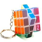 Rubiks kube 3*3*3 Glatt Hastighetskube LED-belysning Magiske kuber Kubisk Puslespill Glans Lighting Selvlysende Gave Barne Voksne