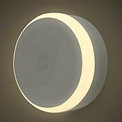 Xiaomi 1 pieza Luz de noche LED Blanco Cálido Batería Sensor de infrarrojos Regulable Control de luz Sensor del cuerpo humano