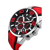 Herre Digital Digital Watch Armbåndsur Smartklokke Sportsklokke Kinesisk Kalender Vannavvisende Stor urskive Silikon Band Sjarm Kreativ