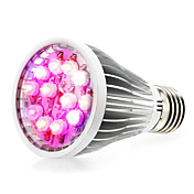290-330lm E14 GU10 E26 / E27 Growing Light Bulb 12 Cuentas LED LED de Alta Potencia Blanco Natural UV (Luz Negra) Azul Rojo 85-265V