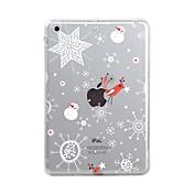 Etui Til Apple iPad Mini 4 iPad Mini 3/2/1 iPad 4/3/2 iPad Air 2 iPad Air iPad 10.5 iPad Pro 12,9 '' iPad (2017) Gjennomsiktig Mønster