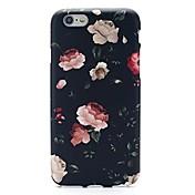 Para iPhone X iPhone 8 iPhone 7 iPhone 7 Plus Carcasa Funda Ultrafina Diseños Cubierta Trasera Funda Flor Suave TPU para Apple iPhone X
