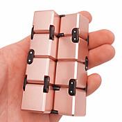 Evighetskube Fidgetleker Magiske kuber Vitenskaps- og oppdagelsesleker Stresslindrende leker Pedagogisk leke Leketøy Kvadrat Nyhet 3D