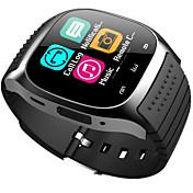 bluetooth smart se ny m26 vanntett smartwatch pedometer anti-tapt musikkspiller ios android telefon pk a1 dz09
