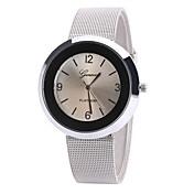 Mujer Cuarzo Reloj de Pulsera Chino Reloj Casual Aleación Banda Encanto Casual Reloj de Vestir Elegant Moda Negro Blanco Azul Marrón