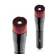 1pc Profesional Pinceles de maquillaje Cepillo para Base Pelo Sintético Fácil de Transportar / Fácil de llevar Haya Hombre y mujer /