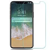 Protector de pantalla Apple para iPhone X Vidrio Templado 1 pieza Protector de Pantalla Frontal Anti-Arañazos A prueba de explosión Alta