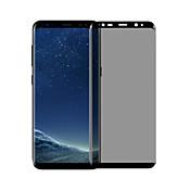 Protector de pantalla Samsung Galaxy para S8 Plus Vidrio Templado 1 pieza Protector de Pantalla Frontal Borde Curvado 3D Privacidad