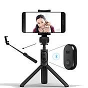 xiaomi sammenleggbar stativ monopod selfie pinne bluetooth med trådløs knapp lukker selfie pinne for ios / android / xiaomi