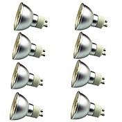 8개 3W LED 스팟 조명 30 LED가 SMD 5050 장식 따뜻한 화이트 차가운 화이트 280lm 3000-7000K AC 12V