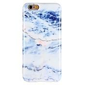 Etui Til Apple iPhone 7 Plus iPhone 7 Støtsikker IMD Bakdeksel Marmor Myk TPU til iPhone 7 Plus iPhone 7 iPhone 6s Plus iPhone 6s iPhone 6