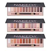 12 Combinación Sombras de Ojos Polvo Maquillaje de Hada Maquillaje de Fiesta Maquillaje de Halloween Maquillaje de Diario