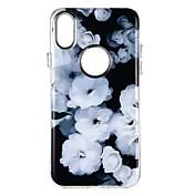 Funda Para Apple iPhone X iPhone 8 iPhone 8 Plus Antigolpes Diseños Funda Trasera Flor Suave TPU para iPhone X iPhone 8 Plus iPhone 8