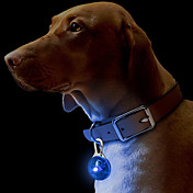 Luz de Seguridad de Mascotas LED con Gancho (Colores Surtidos)
