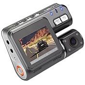 I1000 720p DVR del coche 90 Grados 1.8inch LCD Dash Cam con Grabación en Bucle Visión nocturna Registrador de coche