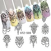 1pcs Other Plantilla de estampado de uñas Diario Moda Alta calidad