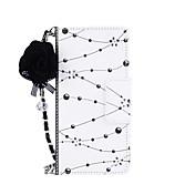 Funda Para Samsung Galaxy S8 Plus S8 Soporte de Coche Cartera con Soporte Flip Magnética Diseños Manualidades Funda de Cuerpo Entero Flor