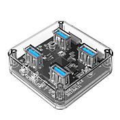 ORICO 4 porter USB-hub USB 3.0 Høyhastighet Data Hub