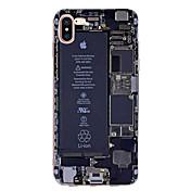 Etui Til Apple iPhone X iPhone 8 iPhone 6 iPhone 7 Plus iPhone 7 Ultratynn Mønster Bakdeksel Ord / setning Myk TPU til iPhone X iPhone 8