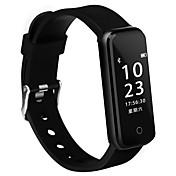Smartarmbånd iOS Android IP67 Vannavvisende Lang Standby Kalorier brent Pedometere Trenings logg Sundhetspleie Sport Pulsmåler