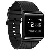 Smart armbånd til iOS / Android Pulsmåler / Blodtrykksmåling / Pedometere / Meldingspåminnelse / Samtalepåminnelse Pedometer / Samtalepåminnelse / Søvnmonitor / Stillesittende sittende Påminnelse