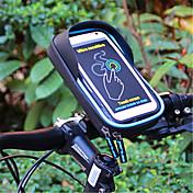 soporte ajustable del soporte del soporte del soporte del soporte del teléfono móvil de la bici soporte plástico del tipo de la hebilla del teléfono