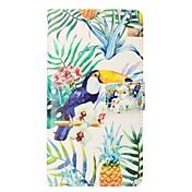 Funda Para Apple iPhone X iPhone 8 Plus Soporte de Coche Cartera con Soporte Flip Magnética Funda de Cuerpo Entero Animal Dura Cuero de PU