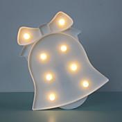 1pc LED Night Light Varm Hvit AA batterier drevet Bedside