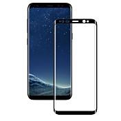 Protector de pantalla Samsung Galaxy para S9 Vidrio Templado 1 pieza Protector de Pantalla, Integral Borde Curvado 3D Anti-Huellas