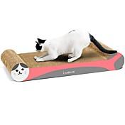 Juguete para Gato Juguetes para Mascotas Scratch Art Papel y Trabajo en Papel Impresiones de Arte Multicolor Almohadilla para Arañar