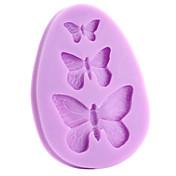 Molde para hornear Mariposa Tarta Galleta Pastel Silicona Ecológica Manualidades 3D
