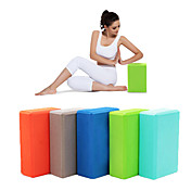 Bloque de Yoga EVA Yoga Pilates Gimnasia Mujer Niños Unisex Azul cielo Verde Azul Rosa Violeta
