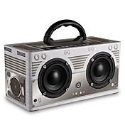 W9 Bluetooth høyttaler Bluetooth 4.0 Audio (3.5 mm) 3,5 mm AUX Høyttaler til bokhylle Grå