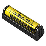 Nitecore F1 Batterilader Beskyttet krets / Pos. polaritetsvern / Kortslutningsvern til Li-ion