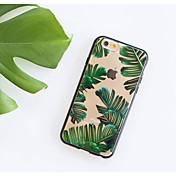 Etui Til Apple iPhone 7 / iPhone 7 Plus / iPhone 6 Ultratynn / Mønster Bakdeksel Tre Myk TPU til iPhone 7 Plus / iPhone 7 / iPhone 6s Plus