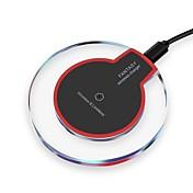Cargador Wireless Cargador usb Universal con el cable / Cargador Wireless / Qi No soportado 2 A DC 5V iPhone X / iPhone 8 Plus / S9