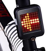 luces de seguridad / Luz Trasera LED Ciclismo Impermeable, Nuevo diseño, Ligero Batería de litio 80 lm Rojo Ciclismo