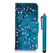 Etui Til Nokia Nokia 5.1 / Nokia 3.1 Lommebok / Kortholder / med stativ Heldekkende etui Blomsternål i krystall Hard PU Leather til Nokia 8 / Nokia 6 2018 / Nokia 5.1